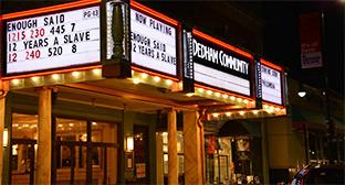 Dedham Community Theatre Marquee