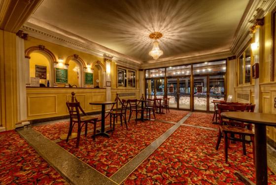 Dedham Community Theatre Lobby